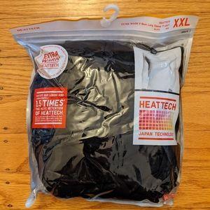 Uniqlo Heattech Extra Warm V Neck Long Sleeve Tee